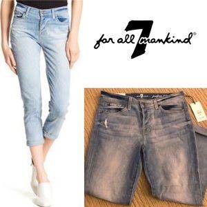 7 for All Mankind Josefina Faded Boyfriend Jean
